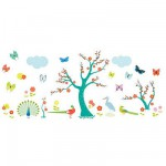 Removable Wall Stickers - Asian Landscape