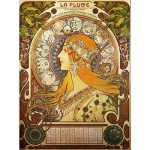 Puzzle 1000 pices - Alphonse Mucha : Zodiaque