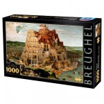 Puzzle 1000 pices - Brueghel : La Tour de Babel