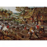 Puzzle 1000 pices - Brueghel : Le printemps