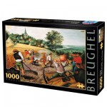 Puzzle 1000 pices - Brueghel : L't