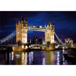 Puzzle 1000 pièces - Découverte de l'Europe : Tower Bridge, Londres