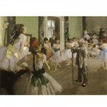 Puzzle 1000 pices - Impressionnisme - Degas : Examen de danse