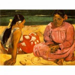 Puzzle 1000 pices - Impressionnisme - Gauguin : Femmes sur la plage
