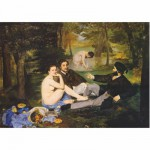 Puzzle 1000 pices - Impressionnisme - Manet : Djeuner sur l'herbe