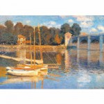 Puzzle 1000 pices - Monet : Le pont d'Argenteuil