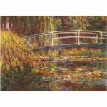 Puzzle 1000 pices - Monet : Le pont japonais