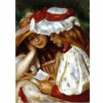 Puzzle 1000 pices - Renoir : Deux jeunes filles lisant