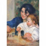 Puzzle 1000 pices - Renoir : Gabrielle et Jean