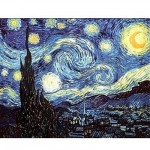 Puzzle 1000 pices - Van Gogh : Nuit toile