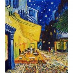 Puzzle 1000 pices - Van Gogh : Terrasse d'un caf le soir