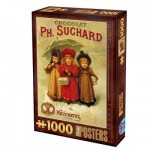 Puzzle 1000 pices - Vintage Posters : Chocolats Ph. Suchard