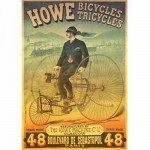 Puzzle 1000 pices - Vintage Posters : Howe Tricyles