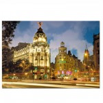 Puzzle 1000 pices - Avenue de la Gran Via, Madrid