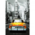 Puzzle 1000 pices - Taxi n1 New York