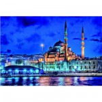 Puzzle 1500 pices - Mer de Marmara, Istanbul, Turquie
