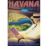 Puzzle 1500 pices - Pan-Am Havane