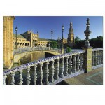 Puzzle 1500 pices - Place d'Espagne : Sville