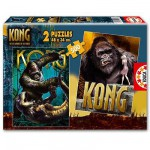 Puzzle 2 x 500 pices - King Kong