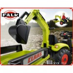 Accessoire pour Tracteurs  pdales  Excavatrice Digger verte