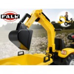 Accessoire pour Tracteurs  pdales  Excavatrice jaune
