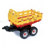 Accessoire pour Tracteurs  pdales  Remorque wagon farm maxi