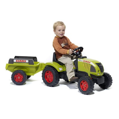tracteur claas ares 657 atz p dales remorque falk falquet magasin de jouets pour enfants. Black Bedroom Furniture Sets. Home Design Ideas