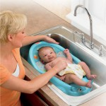 Transat de bain hippo rigolo