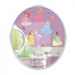 Stickers de décor : Autocollants Princesses Disney