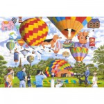 Puzzle 100 pices XXL - Des ballons tout partout