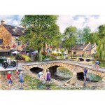Puzzle 1000 pièces - Bourton-on-the-Water, Gloucestershire