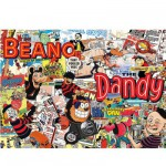 Puzzle 1000 pièces - Beano Dandy : BD collection