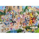 Puzzle 2000 pices - La course endiable