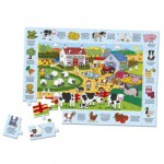 Puzzle 60 pices - My Farmyard (Version anglaise)