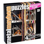 Casse-ttes en mtal x 4 Professor Puzzle : Srie Extrme