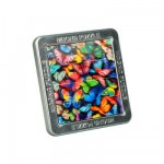 Puzzle 16 pices magntique Effet 3D : Papillons