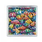 Puzzle 64 pices magntique : Mga 3D : Poissons clowns