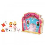 Mini Lalaloopsy Dolls : Prince and Cindy