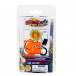 Porte-cls avec toupie et lanceur Beyblade Metal Fusion : Flame Sagittario