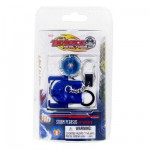 Porte-cls avec toupie et lanceur Beyblade Metal Fusion : Storm Pegasus