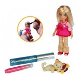 Puppy in my Pocket 2 : Mini poupe  personnaliser et puppy Chat