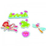 Bath Toy - Bath Puzzle - Bathing Elf Fay