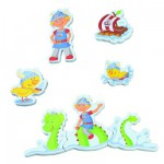 Bath Toy - Bath Puzzle - Tim Torrant the Viking