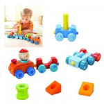 Empilable Haba : Petit train Habaland