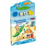 Livre puzzle Une journe formidable  la plage