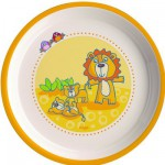 Melamine Bowl - Lion Family : 18 cm