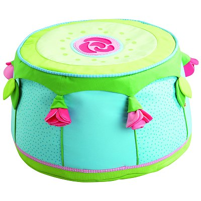 Pouf Fe aux roses