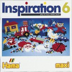 Hama Midi Beads - Inspiration Book 6 : 16 Pages