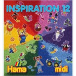 Perles  repasser Hama Midi  Livre d'inspiration 12 : 64 pages