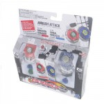 Toupies Beyblade Metal Fury : Duel Bakushin Susanow et Spiral Herculeo